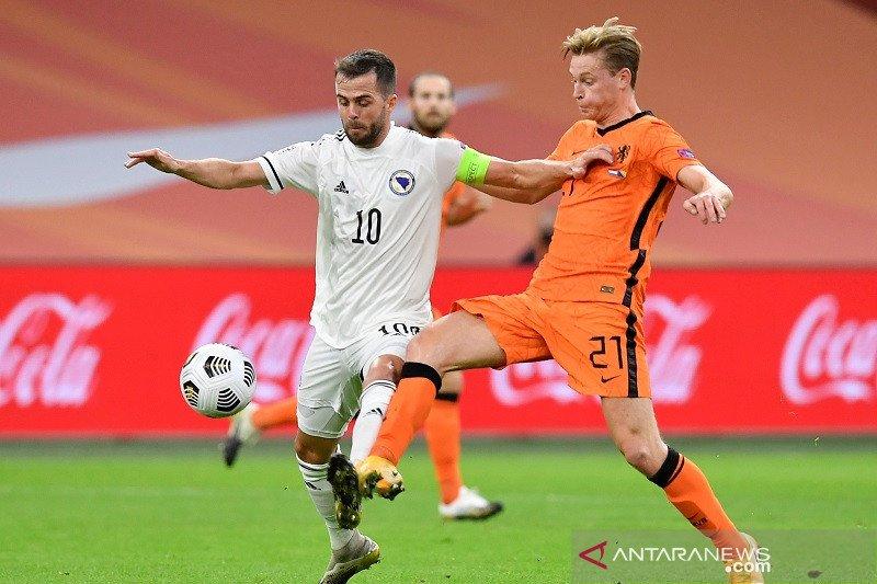 Miralem Pjanic akui Divisi A Nations League terlalu berat untuk Bosnia