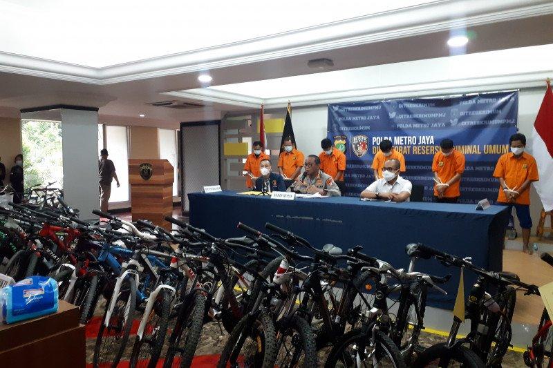 Polda Metro imbau korban pencurian sepeda ambil sepedanya