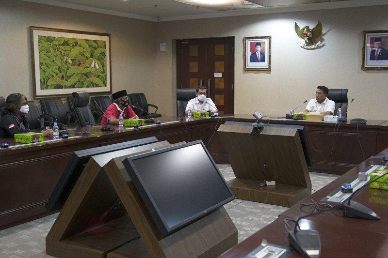 Moeldoko terima perwakilan Asosiasi Petani Tembakau Indonesia