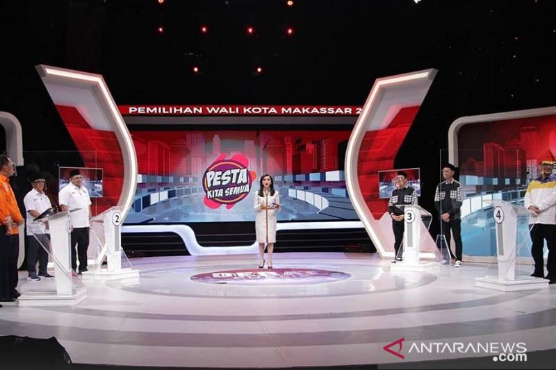 KPU Makassar tetapkan debat kedua di Jakarta
