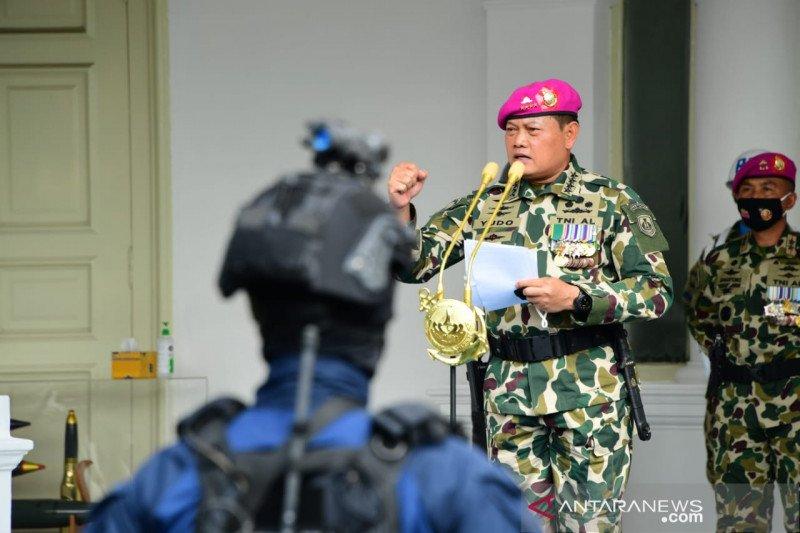 Kasal: Korps Marinir TNI AL selalu diandalkan untuk mengemban tugas