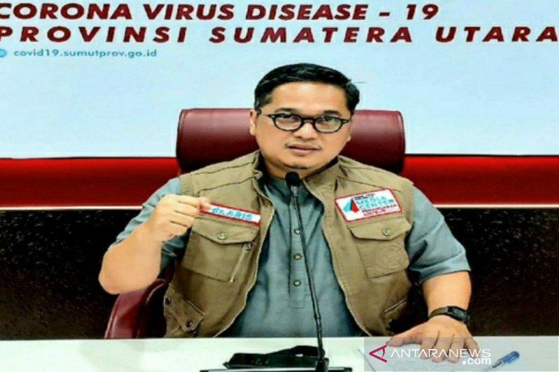 Satgas: 106 pasien COVID-19 di Sumut sembuh