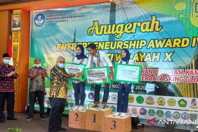 LLDIKTI Wilayah X umumkan pemenang Entrepreneurship Award ke-IV 2020