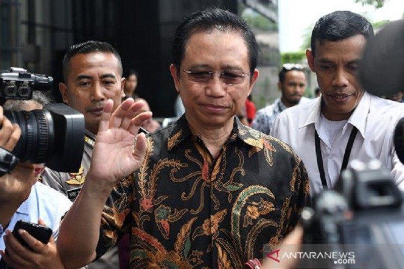 Marzuki Alie diklarifikasi KPK namanya disebut dalam perkara Nurhadi