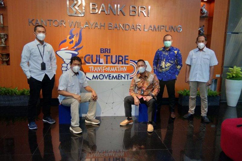 Kepala Biro ANTARA Lampung kunjungi Kanwil BRI Bandarlampung