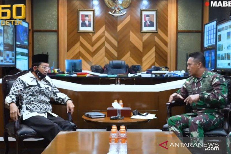 Kasad harapkan pribadi personel jadi kuat usai penataran di Istiqlal
