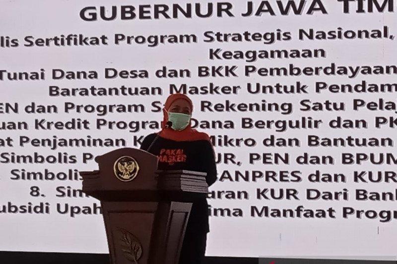 Gubernur Jatim beri sanksi kepada pejabat Pemkab Jember