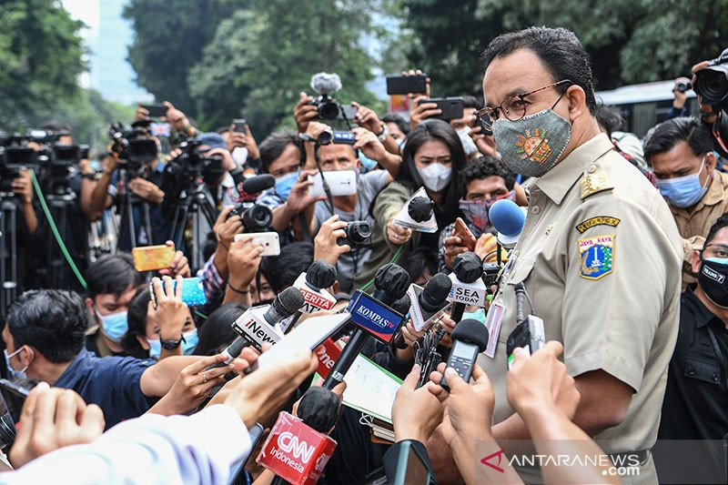 Gubernur DKI harapkan media bisa sinergi dan solid hadapi tantangan