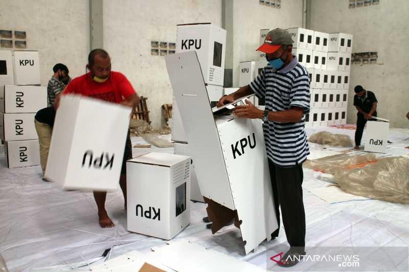 KPU Surakarta rakit 2.522 kotak suara Pilkada 2020