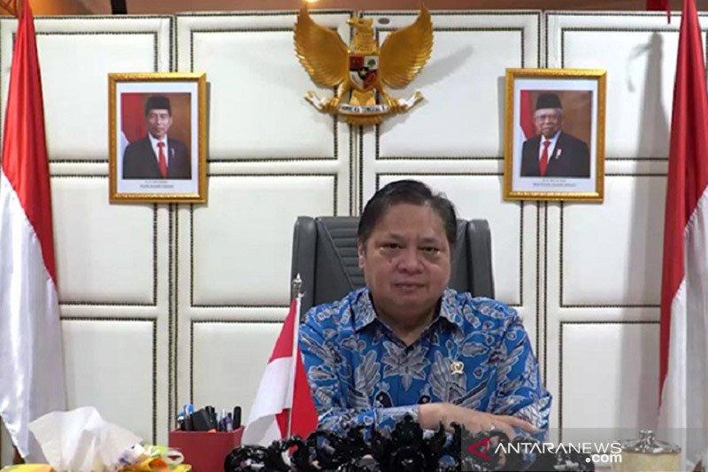 Menko Airlangga: Digitalisasi UMKM realisasi 2 agenda besar pemerintah