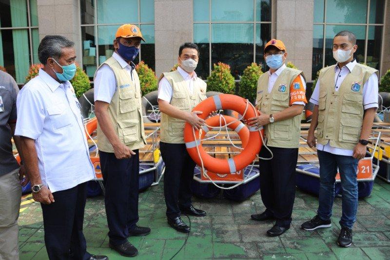 BPBD DKI bantu sarana prasarana atasi banjir Jakarta Utara