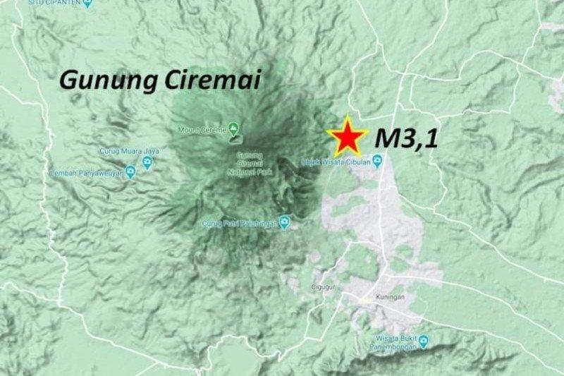 Sesar Ciremai penyebab gempa Kuningan merupakan sesar aktif