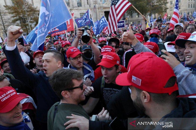 Tim kampanye minta hakim umumkan Trump menang di Pennsylvania