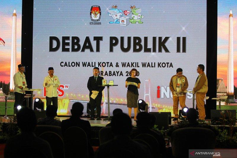 Debat publik Pilkada Kota Surabaya
