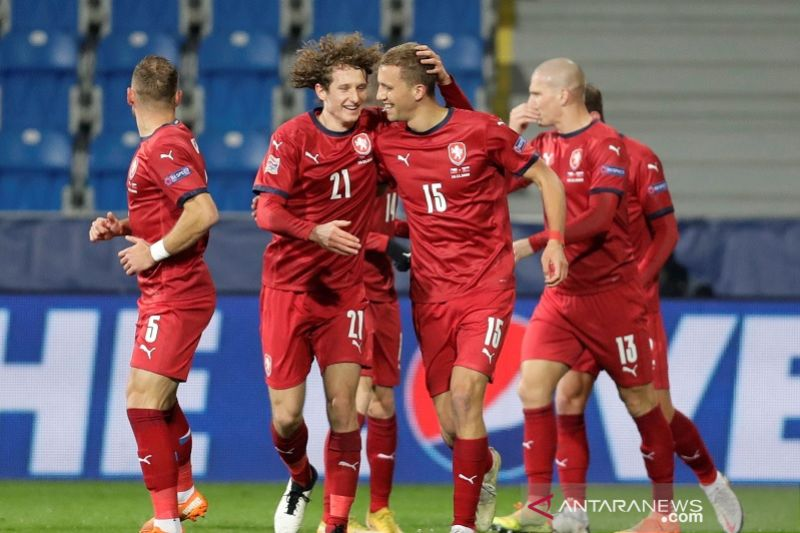 Grup B2 Nations League: Ceko promosi, Slowakia terdegradasi