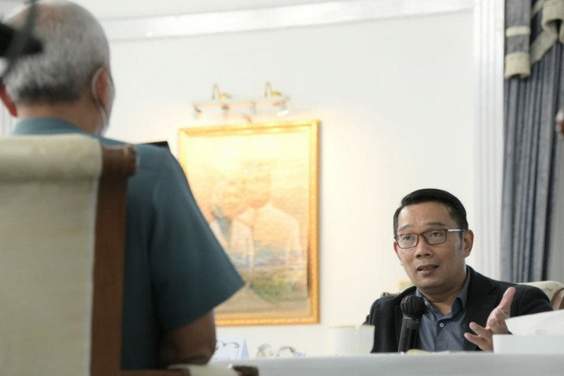 Gubernur sebut Wantannas proyeksikan Jabar contoh penanganan COVID-19