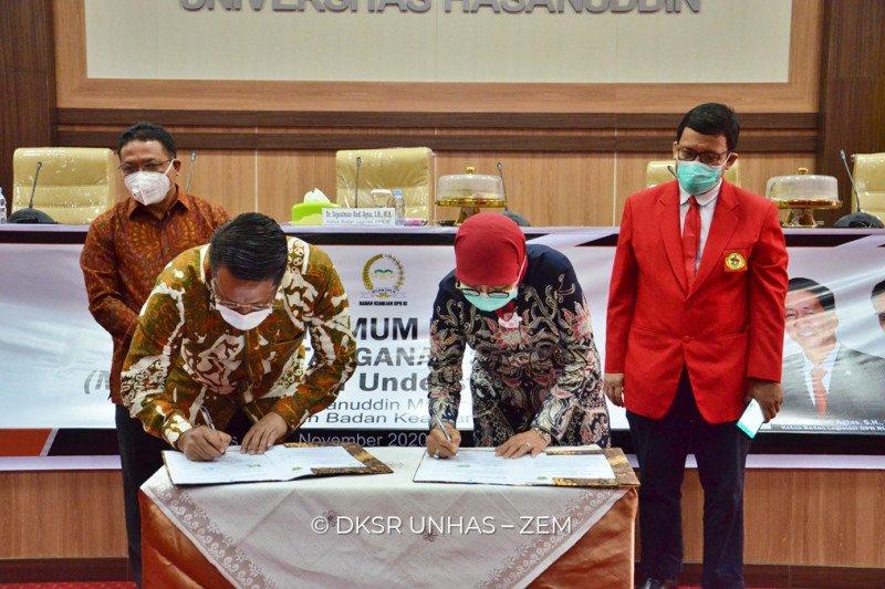 Unhas-Badan Keahlian Sekjen DPR kerja sama Tridharma Perguruan Tinggi