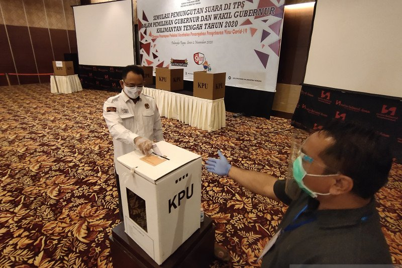 Positif COVID-19, Cagub Kalteng Sugianto absen debat publik ke-2