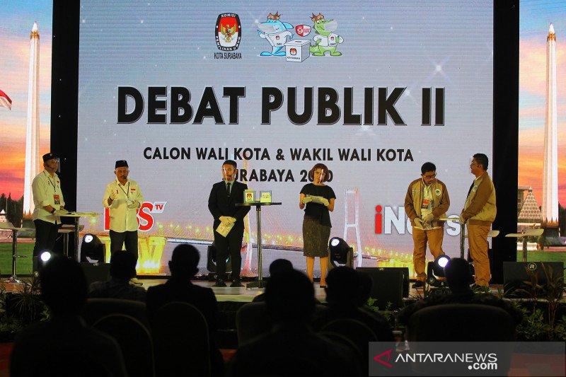 Debat publik pilkada Surabaya