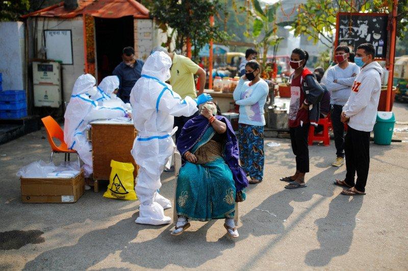 India catat lebih dari 44.000 kasus tambahan COVID-19