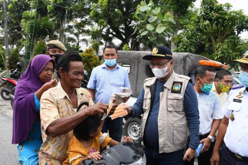 BPBD Sumut bantu 150 ribu masker untuk Kabupaten Serdang Bedagai