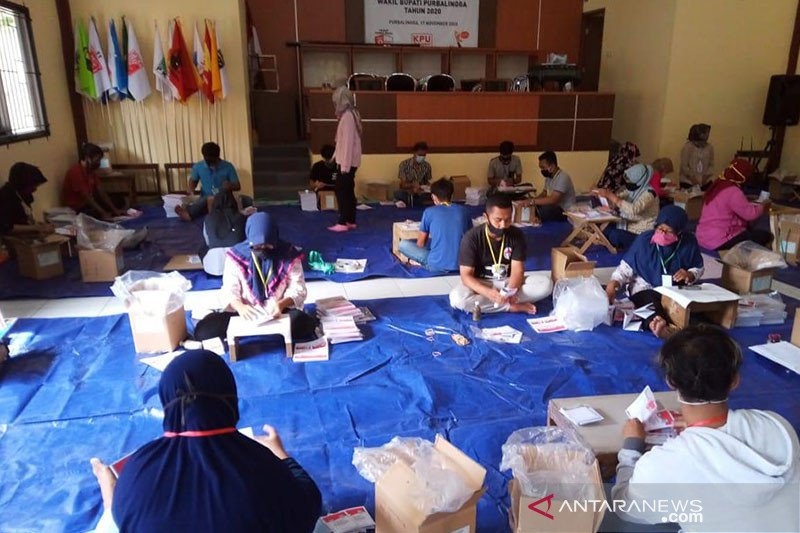 KPU Purbalingga antisipasi kendala distribusi logistik saat hujan