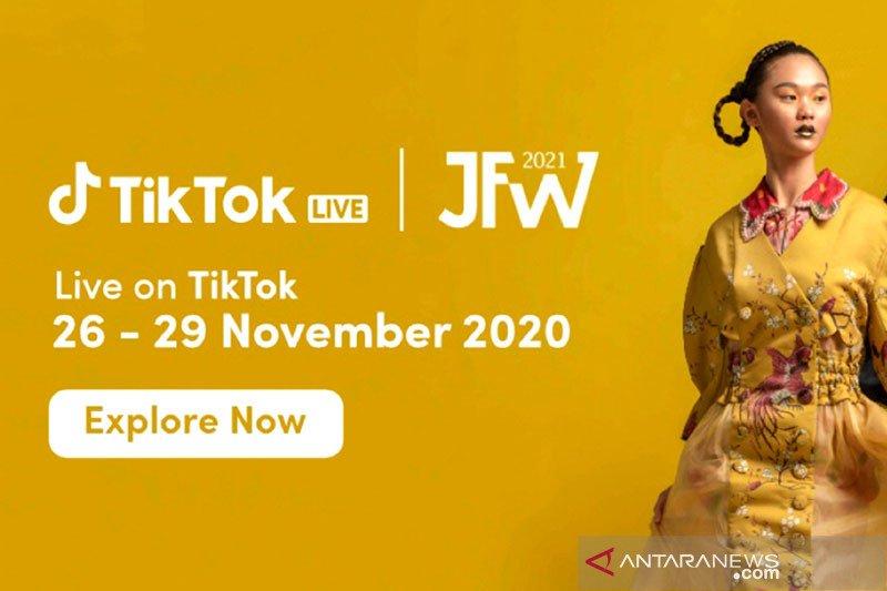 TikTok dukung JFW 2021, kolaborasikan fesyen dengan teknologi