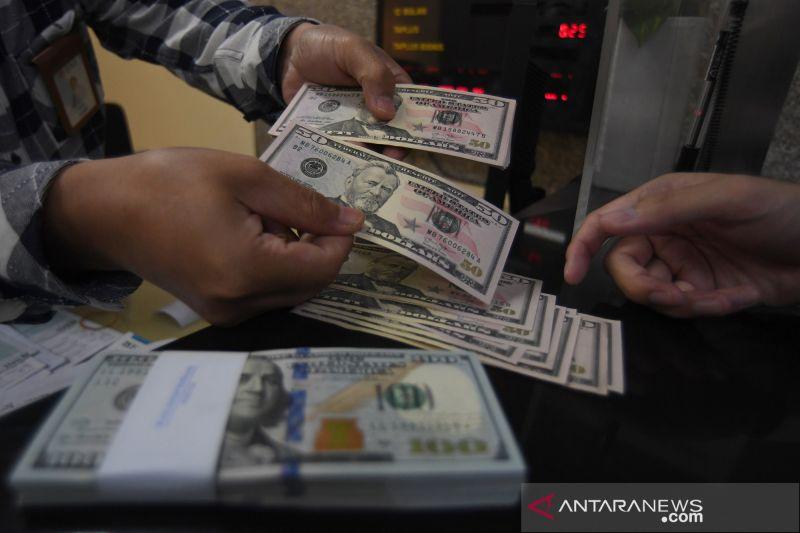 Rupiah Kamis pagi stagnan di posisi Rp14.125 per dolar