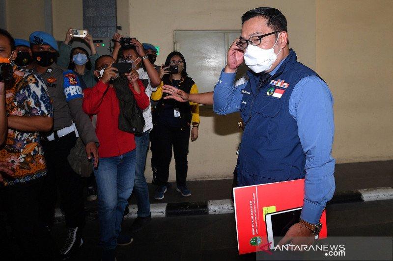 Ridwan Kamil: Kerumunan Megamendung berbuntut 5 warga positif COVID-19