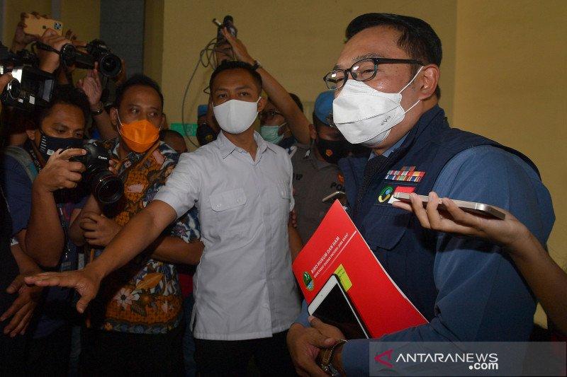 Ridwan Kamil beberkan kronologi kerumunan massa di Megamendung
