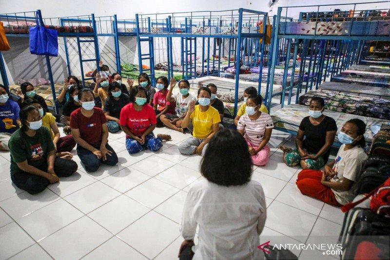 Rumah penampungan pekerja migran di Tangerang