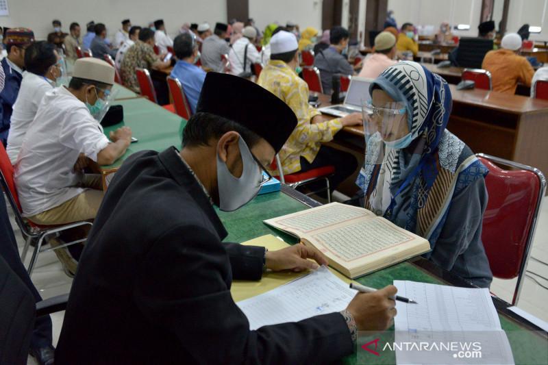 Calon komisioner KPI Aceh ikuti tes baca Al Quran