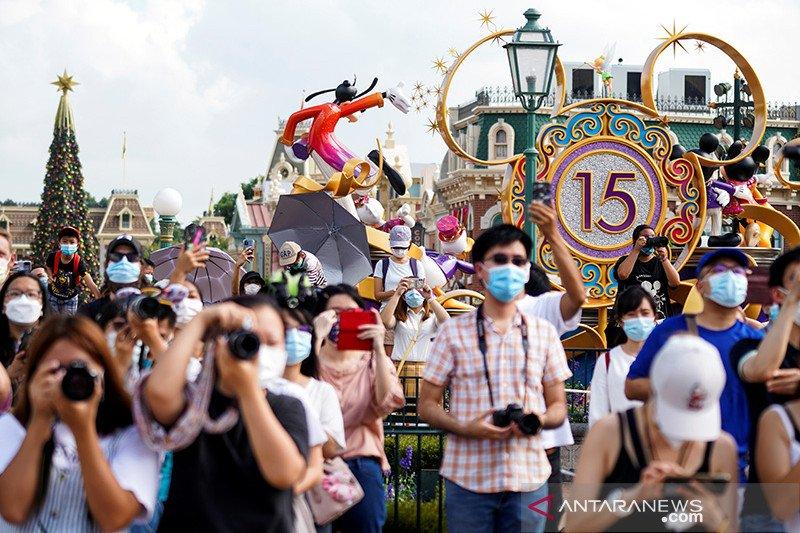 Disneyland Hong Kong kembali ditutup karena pandemi