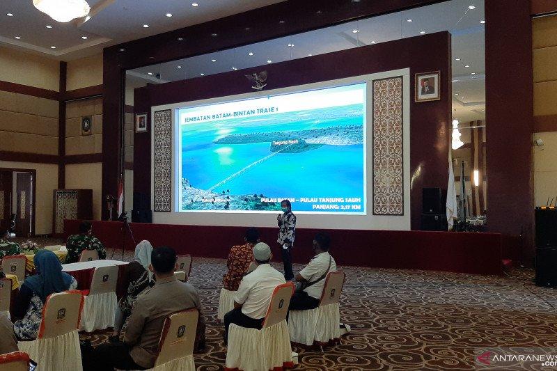Investor luar negeri sudah lama tertarik bangun jembatan Batam-Bintan