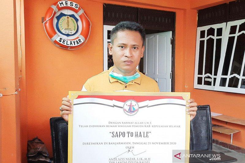 Polisi putra daerah Selayar menabung 12 tahun wujudkan rumah singgah
