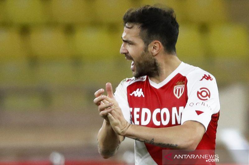 Liga Prancis: Gol Fabregas menangkan Monako saat melawan PSG