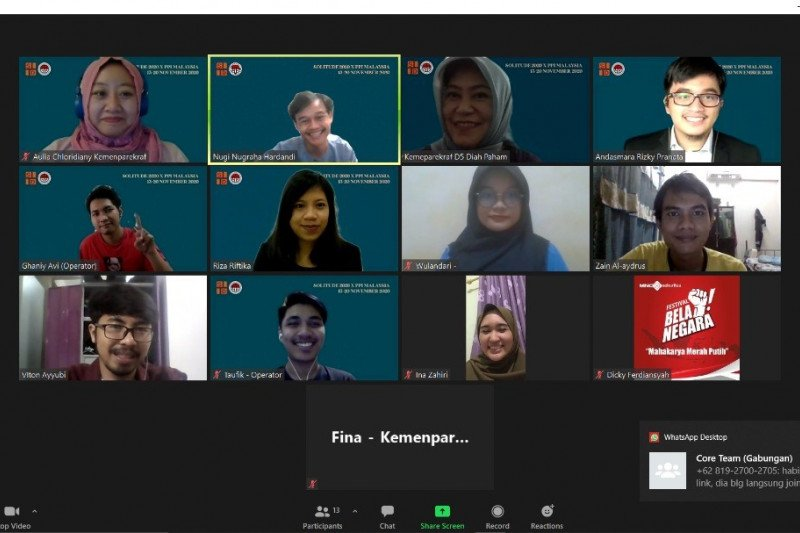 PPI Malaysia - Kemenparekraf sepakat bangkitkan wisata secara digital