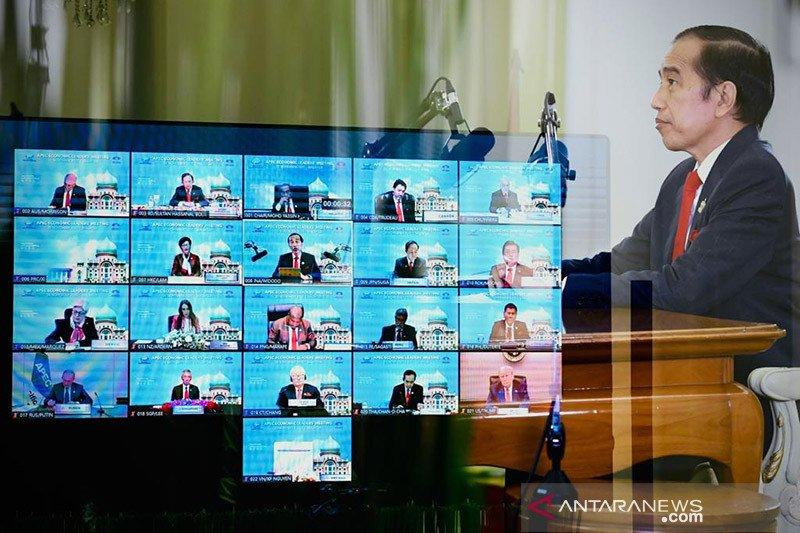 Presiden Jokowi sampaikan 3 hal dalam KTT APEC 2020