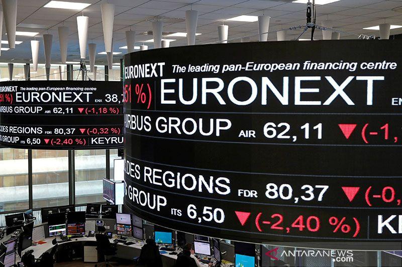 Saham Prancis hentikan naik beruntun, indeks CAC 40 jatuh 0,39 persen