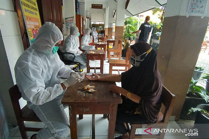 Polda Metro Jaya kembali gelar tes cepat massal di Petamburan