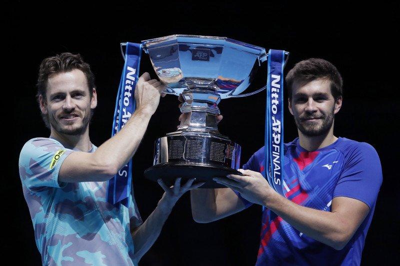 Koolhof-Mektic juarai ganda putra ATP Finals