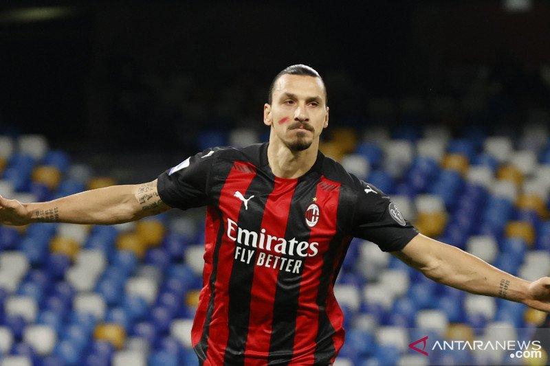 Ibrahimovic alami masalah otot, AC Milan harap-harap cemas