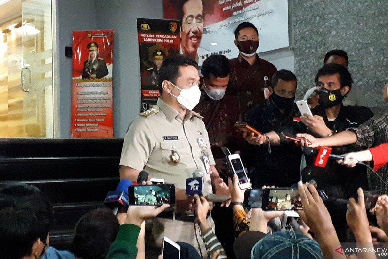 Wagub DKI Riza Patria dicecar 46 pertanyaan oleh Polda Metro Jaya