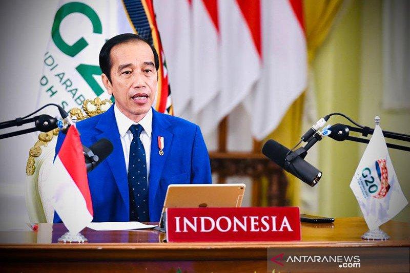 Jokowi sebut perlu transformasi besar pascapandemi di KTT G20