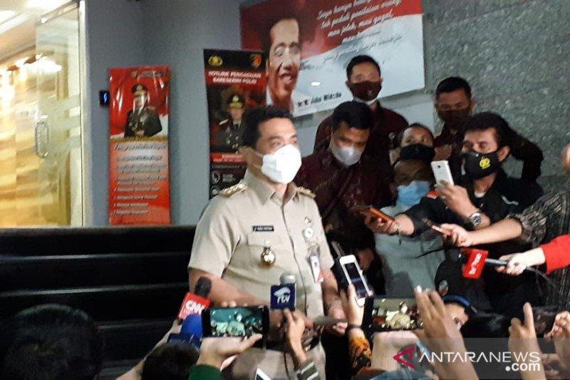 Wagub DKI Riza Patria: Tolak tes usap terancam denda hingga Rp7 juta