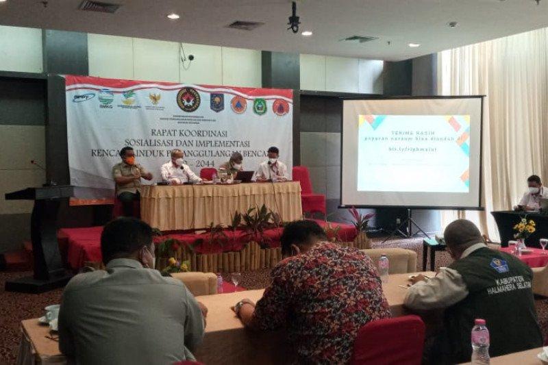 Kemenko PMK sosialisasi penanggulangan bencana preventif di Malut