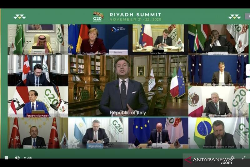 Tutup KTT G20, Arab Saudi serahkan kepemimpinan ke Italia