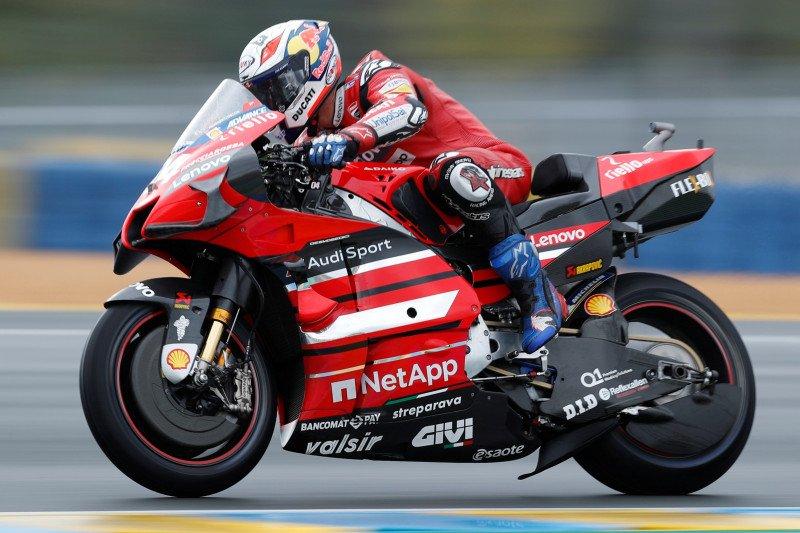 Dovizioso sampaikan salam perpisahan kepada Ducati