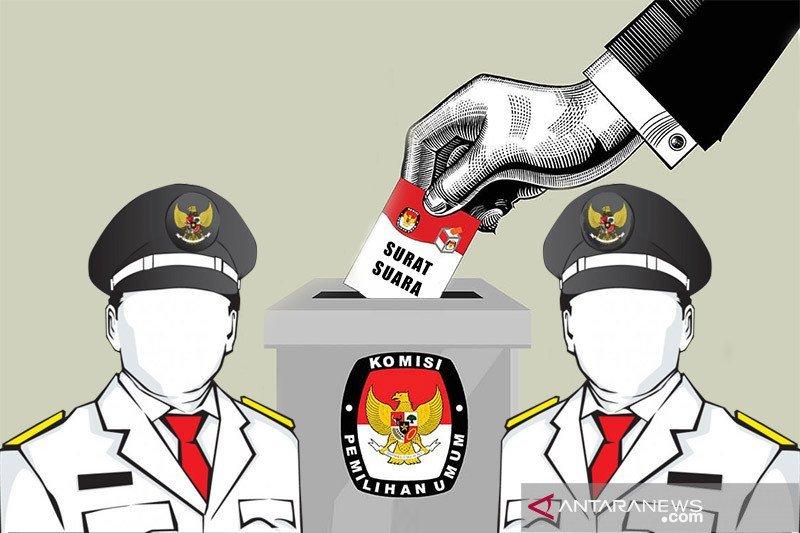 KPU Palu libatkan 100 mahasiswa bantu lipat surat suara Pilkada