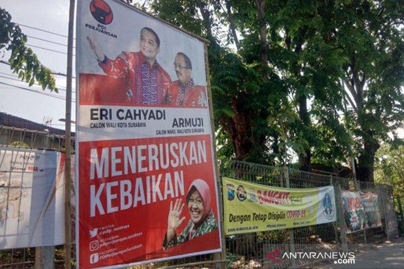 Konten kampanye Erji tonjolkan Risma jadi perhatian pemilih Surabaya